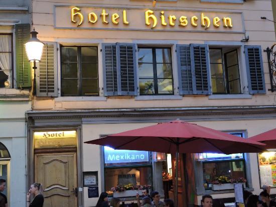 Hotel Hirschen: Great location