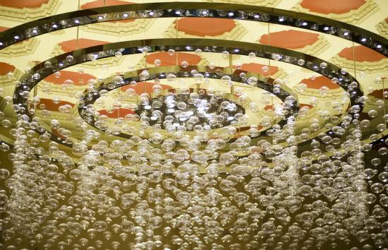 The iconic Chandelier Bar - Picture of Adelaide Casino, Adelaide ...