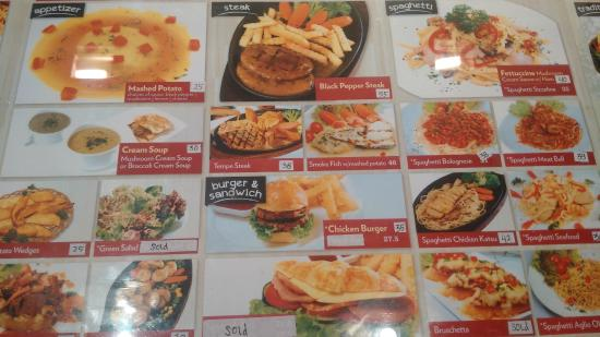 Dharma kitchen senayan city menu photo de dharma kitchen for Accord asian cuisine menu