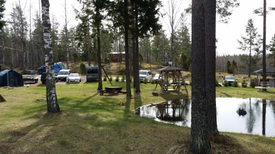 Taipalsaari, ฟินแลนด์: Территория хостела