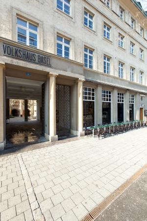 Brasserie Volkshaus Basel : Eingang
