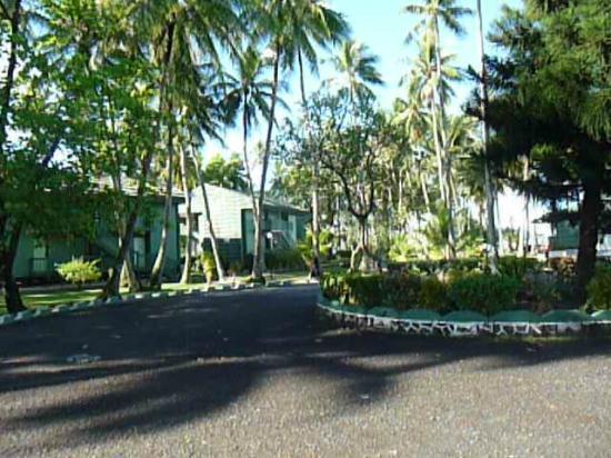 Truk Blue Lagoon Resort: ホテル敷地内