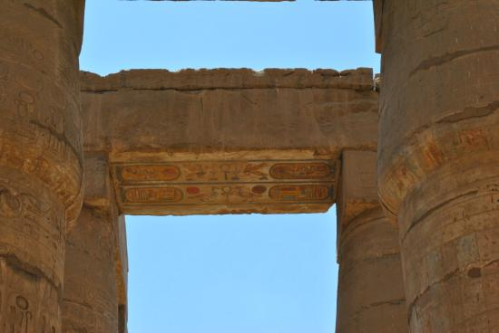Temple of Karnak: -