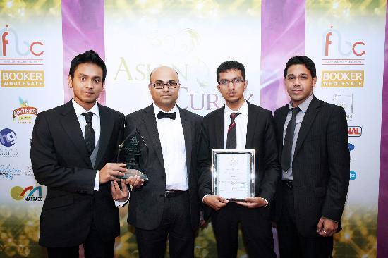 Indigo: Asian Curry Awards 2012
