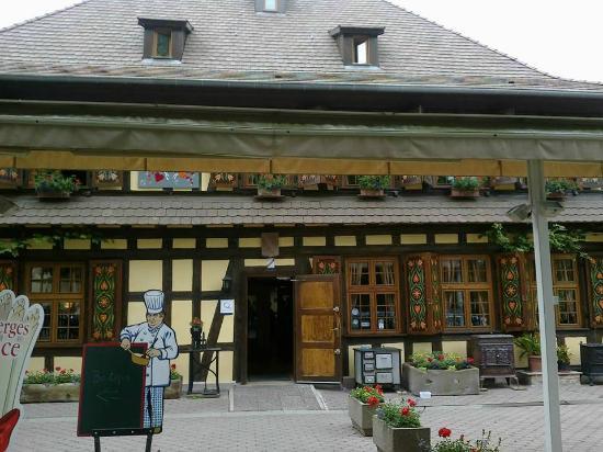 Restaurant oberjaegerhof photo de restaurant for Reso strasbourg
