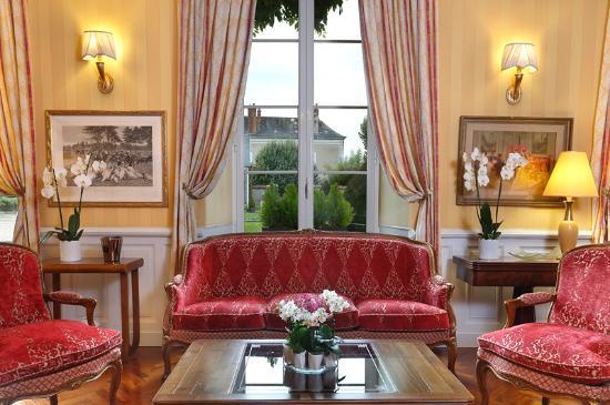 Hotel Le Manoir les Minimes : Salon Manoir Les Minimes