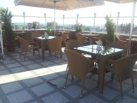 Erbazlar Hotel: Teras Cafe
