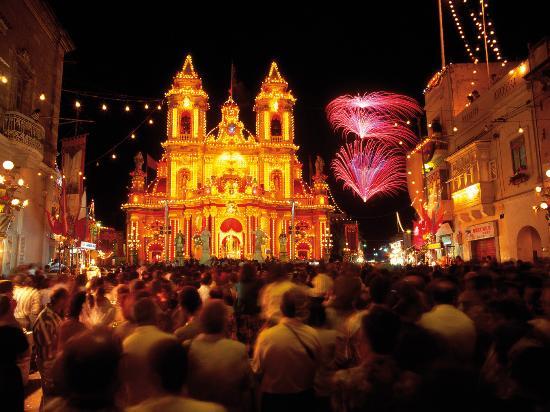 Sliema, Malta: Fiesta
