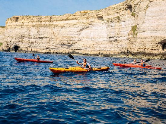 Sliema, Malta: Canoeing Cliffs