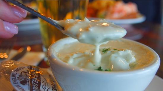 Awesome chowder! - Picture of Lobster Tail, Windham - TripAdvisor