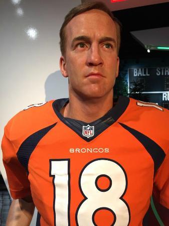 Madame Tussauds Orlando: Manning