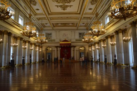 One of the Palace Ballroom - Picture of State Hermitage Museum and ...
