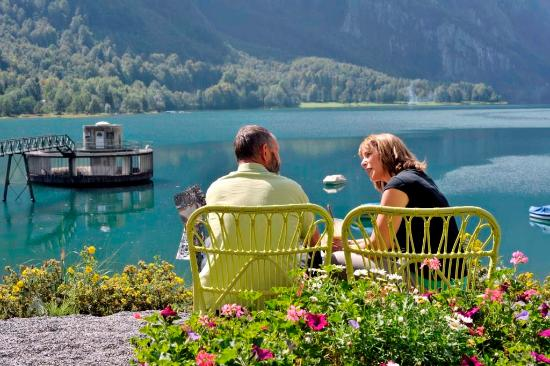 Klöntal, Sveits: Loungebereich