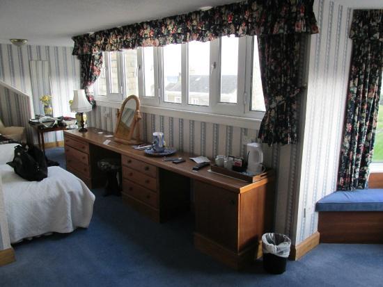 South Beach Hotel: Chambre avec vue sur mer.