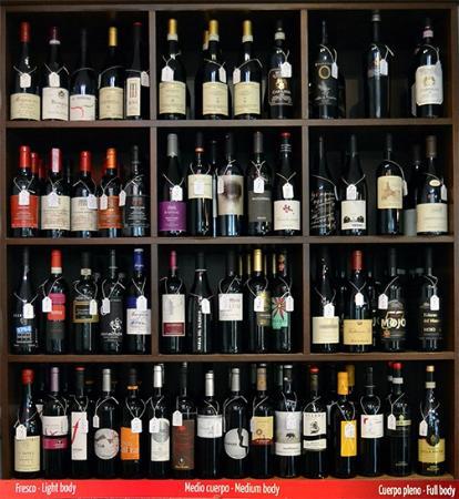 Estanteria vino fotograf a de xxxii great power beer and - Estanterias de vino ...