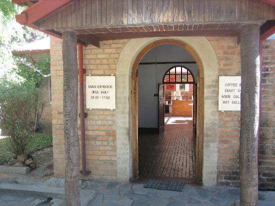 Choma, Sambia: Entrance to museum