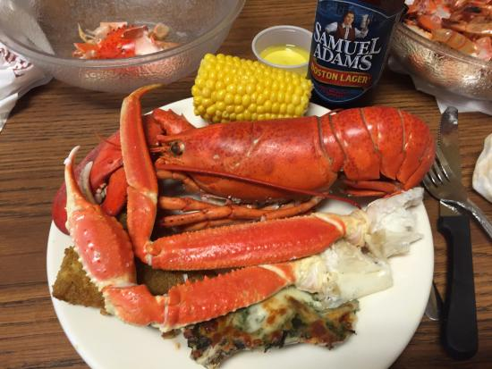 King Crab legs - Picture of Boston Lobster Feast ...