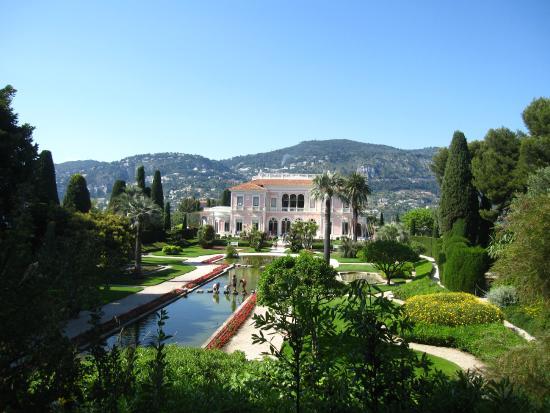 Ouvrire les volets photo de villa jardins ephrussi de for Jardin villa rothschild