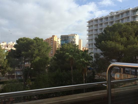 Ipanema Park: Udsigten fra vores værelse