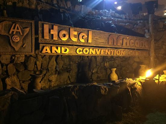 Hotel Africana : entrance
