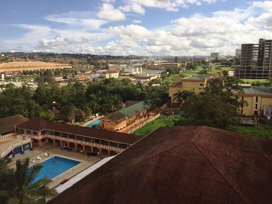 Hotel Africana: pool area