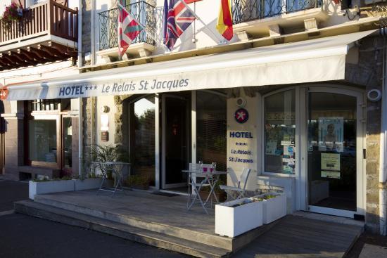Hotel Le Relais Saint Jacques : entrée hôtel