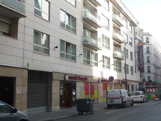 Hotel Les Citadines Paris Rue Didot