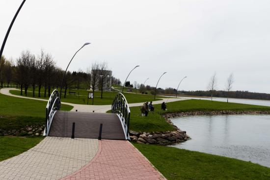 Telsiai, Litauen: Mastis lake