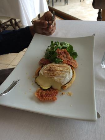Ristorante Albergo Bellavista: Perfect lunch with perfect view on a stormy day
