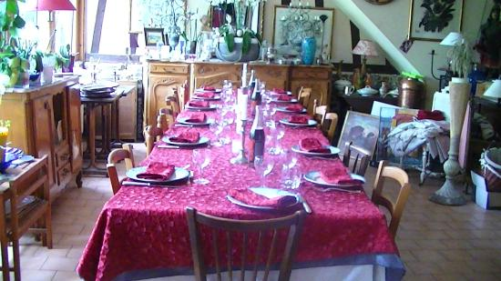 Le Coquerel : La table d'hôtes