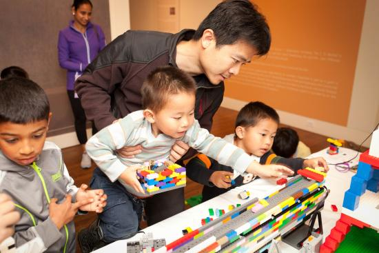 Monterey Museum of Art – Pacific Street: Family Day activities