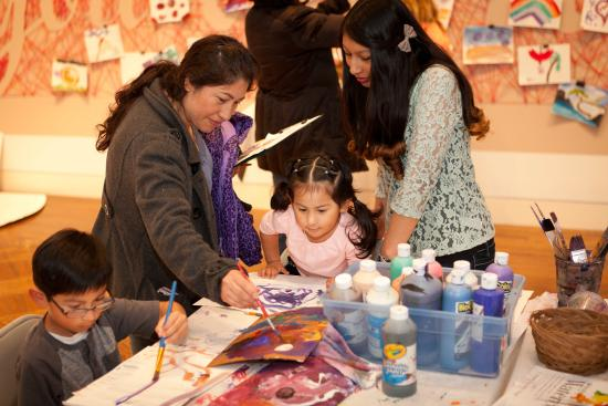 Monterey Museum of Art : Family Day activities