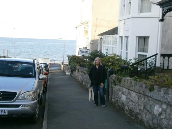 The Colbourn Hotel B&B: The sea is so near!