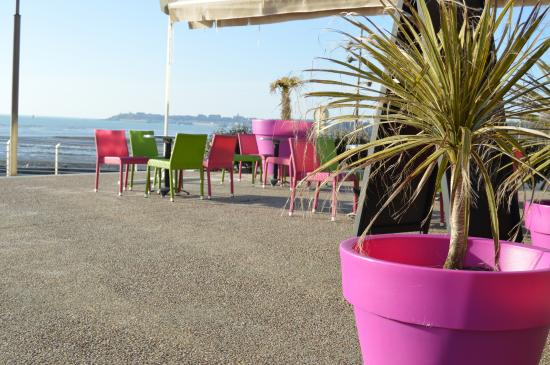 Saint-Pair-sur-Mer, Fransa: la terrasse