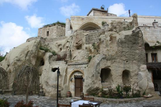 Dreams Cave Cappadocia : vue de l'hôtel