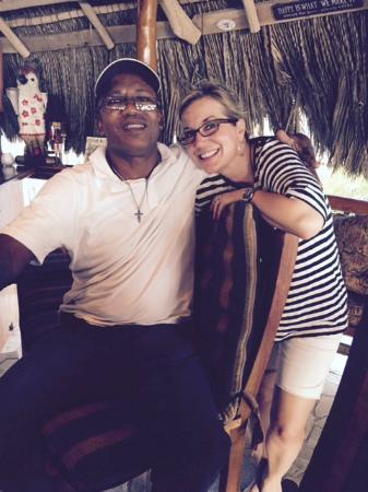 Phillip's Jamaica Tours : Me and the wonderful Phillip!