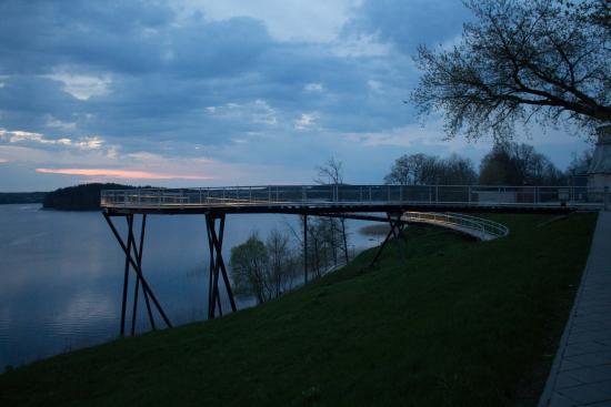 Zarasai, Lituania: Observation deck