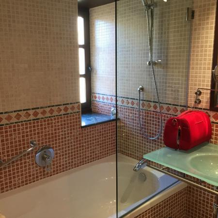 Hotel Hospes Palacio de San Esteban: ducha