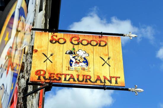 So Good Restaurant: So Good