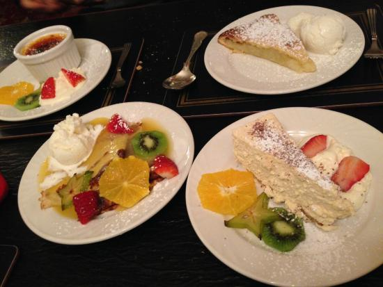 The Lord Edward: delicious desert
