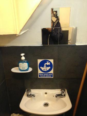 Kampong Ah Lee Malaysian Delight: The toilet
