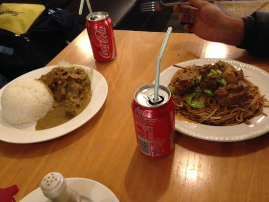 Kampong Ah Lee Malaysian Delight: Beef curry rice