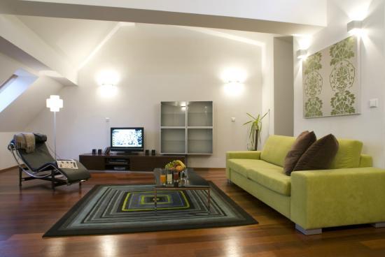 Prague City Apartments Residence Karolina: Living room
