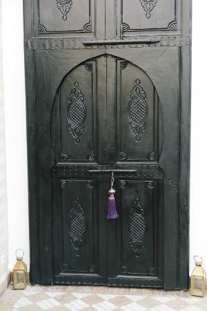 Riad Magellan Yoga: Door to rooms