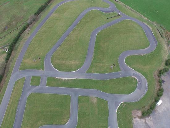 Drone cam ariel view - Picture of GYG Karting, Cerrigydrudion