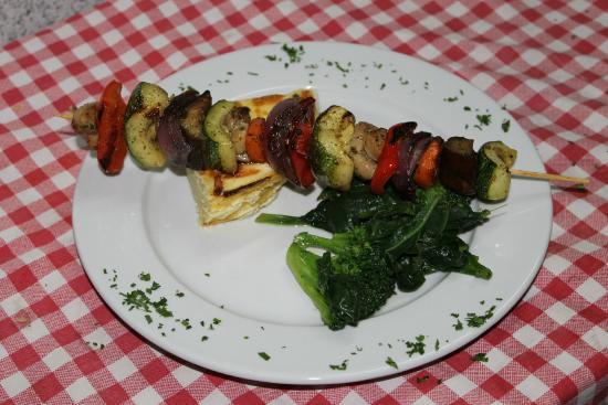 Los Toldos Chicken: Brochetta de vegetales