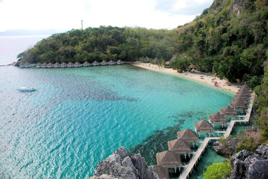 El Nido Resorts Apulit Island Relling View From The Top