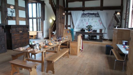 Ordsall Hall: The dinning room 1