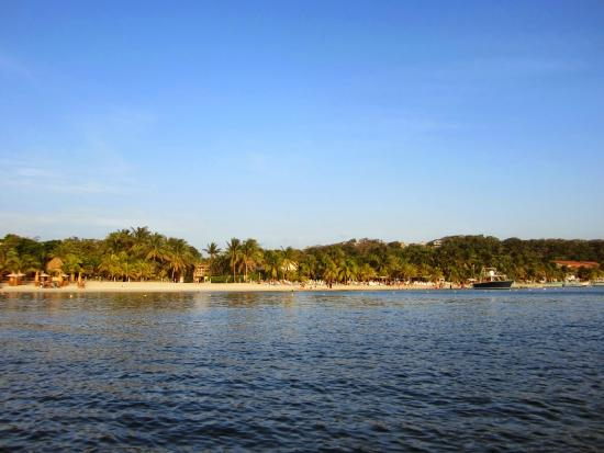 Bananarama Beach and Dive Resort: Water Taxi to West End