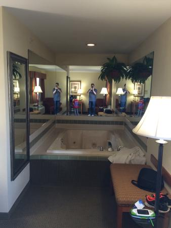 Baymont Inn & Suites Indianapolis: The downstairs king suite room 120 is clean!